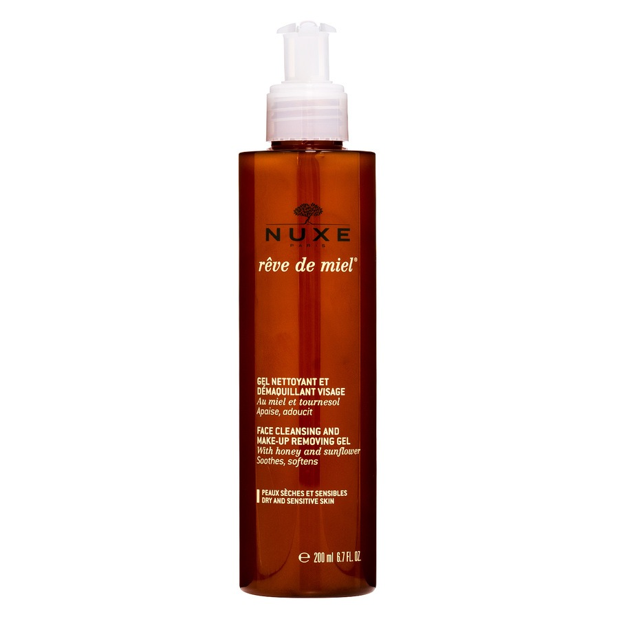 NUXE Rêve De Miel Face Cleansing and Make-Up Removing Gel (200 ml)
