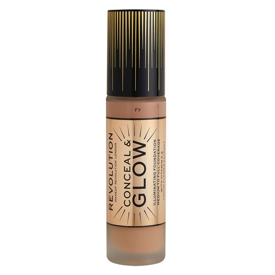 Makeup Revolution Conceal & Glow Foundation F7 23 ml