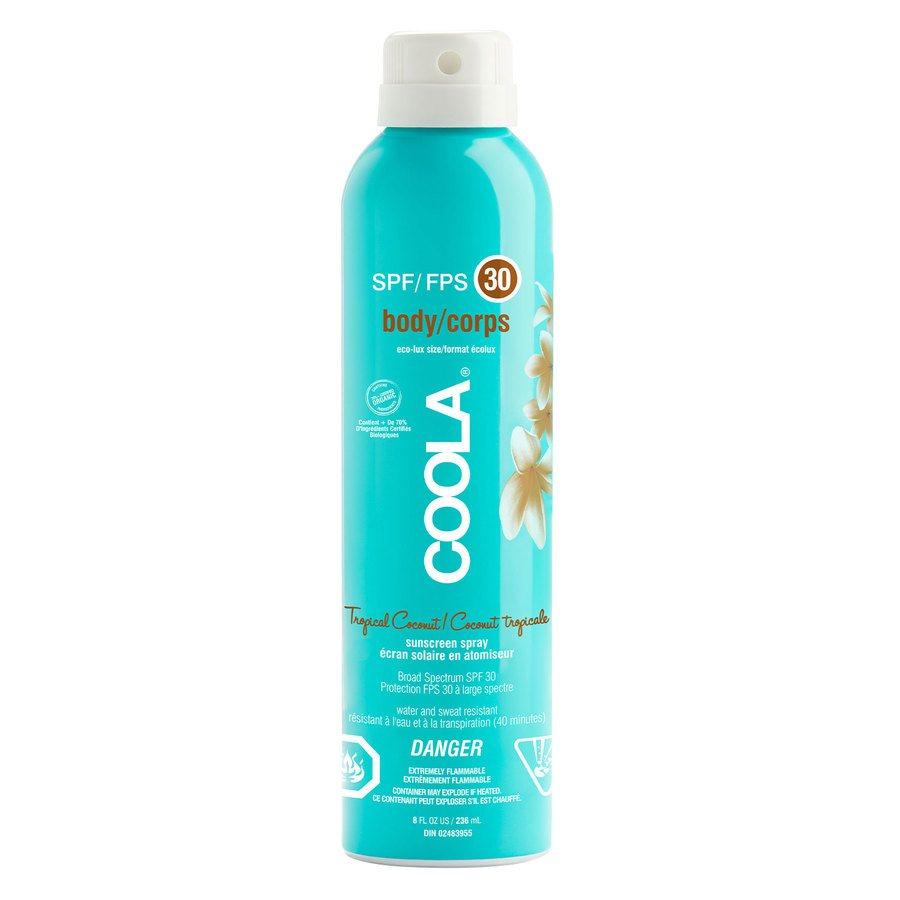 Coola Spray SPF30 (236 ml) – Tropical Coconut