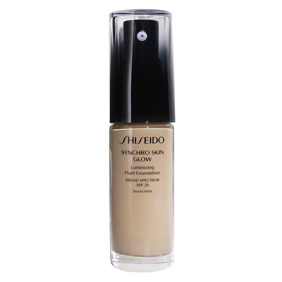 Shiseido Synchro Skin Glow Luminizing Foundation, Natural #3 (30ml)