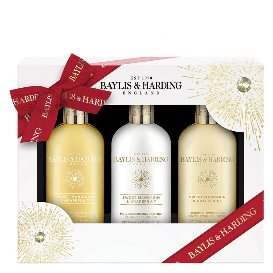 Baylis & Harding Sweet Mandarin & Grapefruit 3 Piece Set