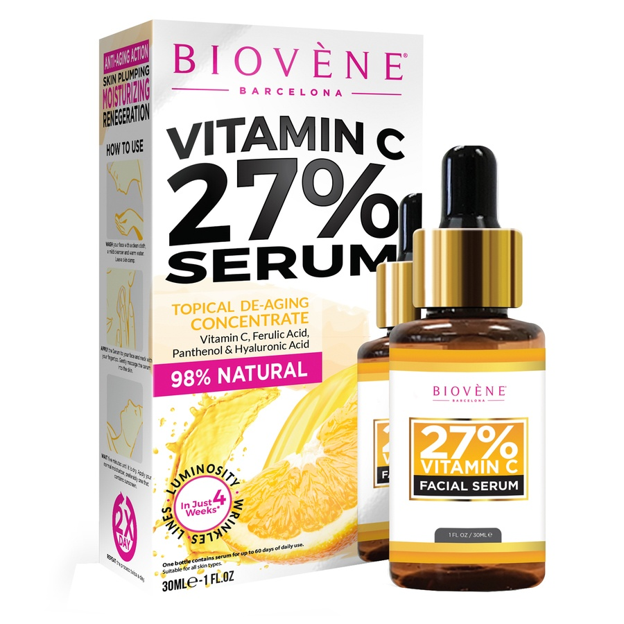 Biovène Vitamin C 27% Facial Serum (30ml)