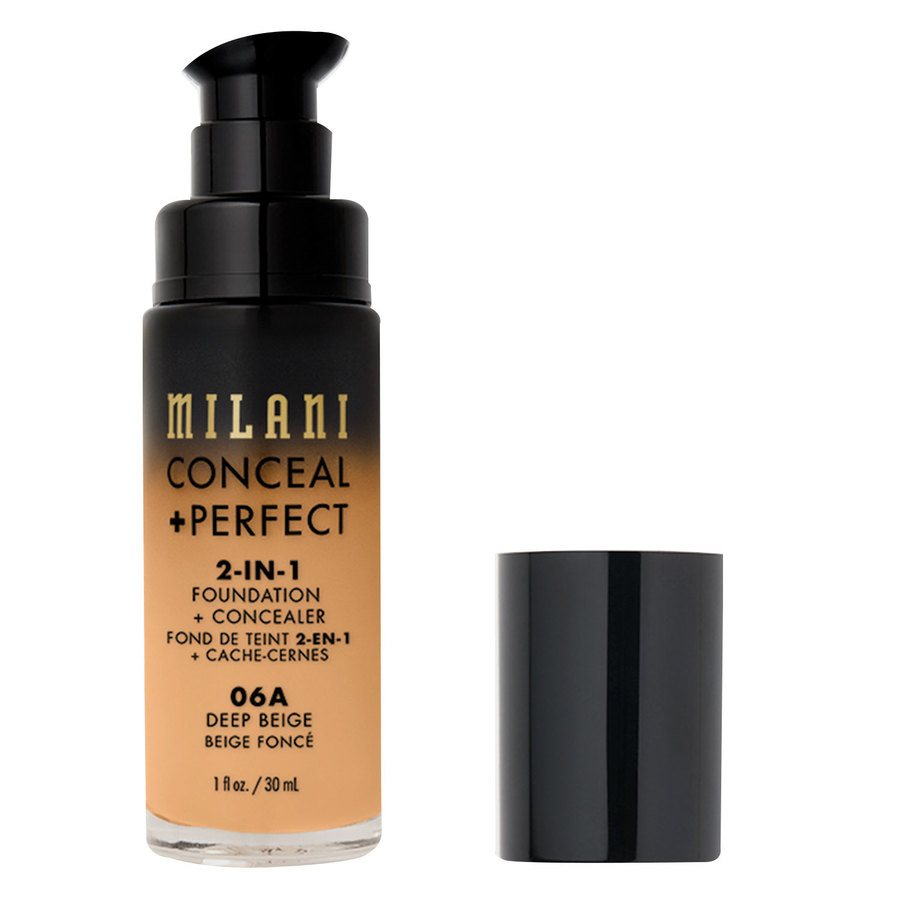 Milani Cosmetics Conceal + Perfect 2-In-1 Foundation + Concealer Deep Beige (30 ml)