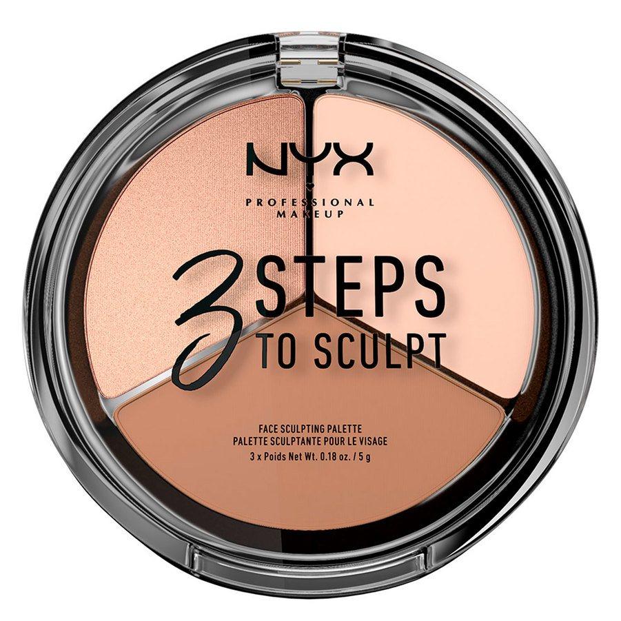 NYX Professional Makeup 3 Steps To Sculpt Fair (5 g)