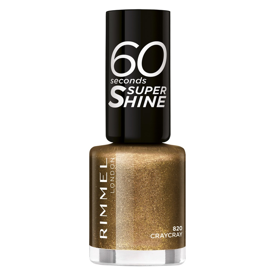 Rimmel London 60 Seconds Super Shine (8ml), 820