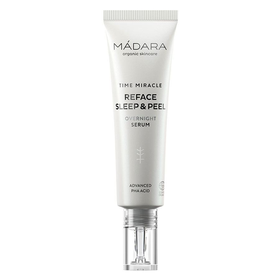 Mádara Time Miracle Reface Sleep & Peel Overnight Serum 30 ml