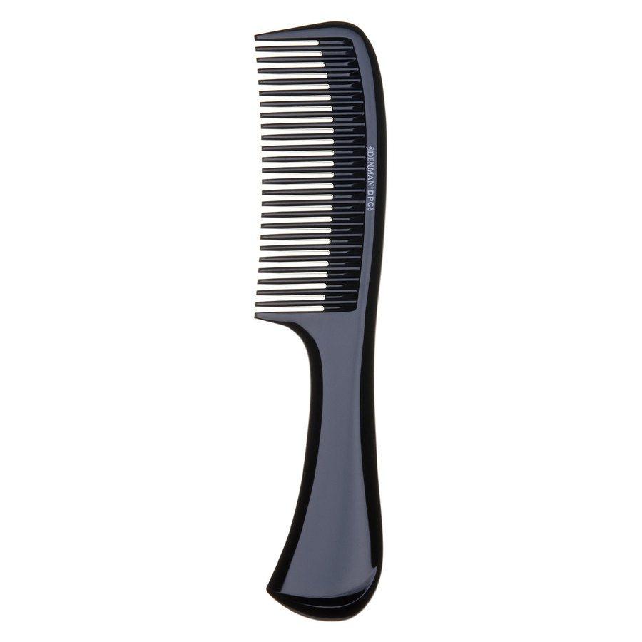 Denman DPC6 Rake Comb Black