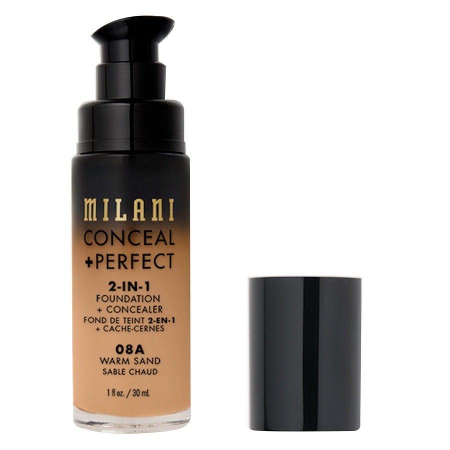 Milani Cosmetics Conceal + Perfect 2-In-1 Foundation + Concealer Warm Sand (30 ml)