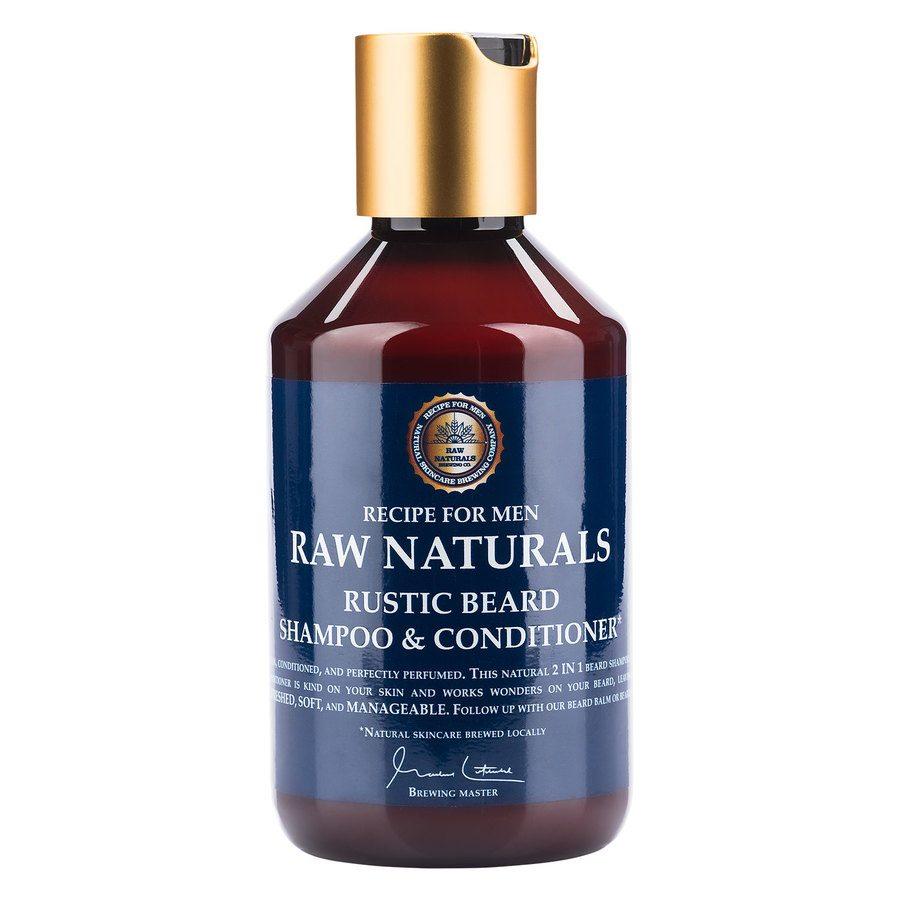 Raw Naturals Rustic, szampon i odżywka, 250ml