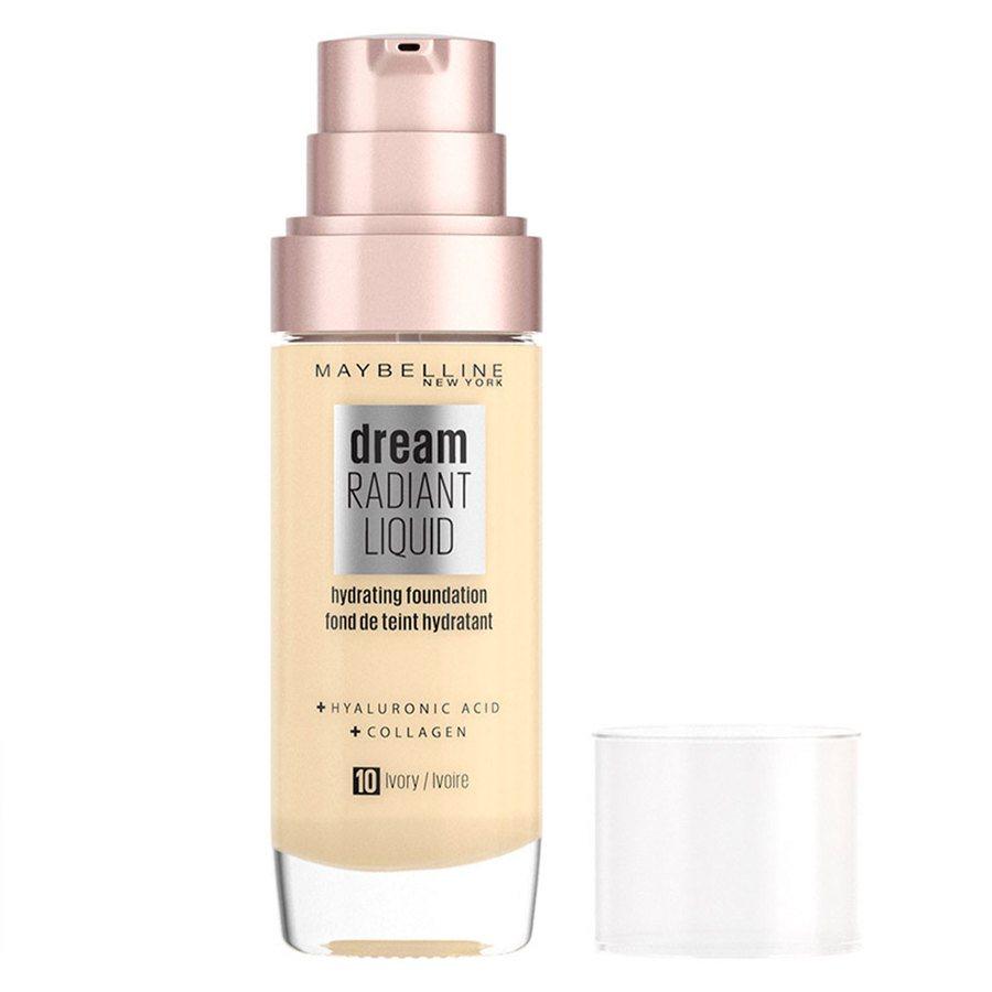 Maybelline Dream Radiant Liquid, 010 Ivory (30 ml)
