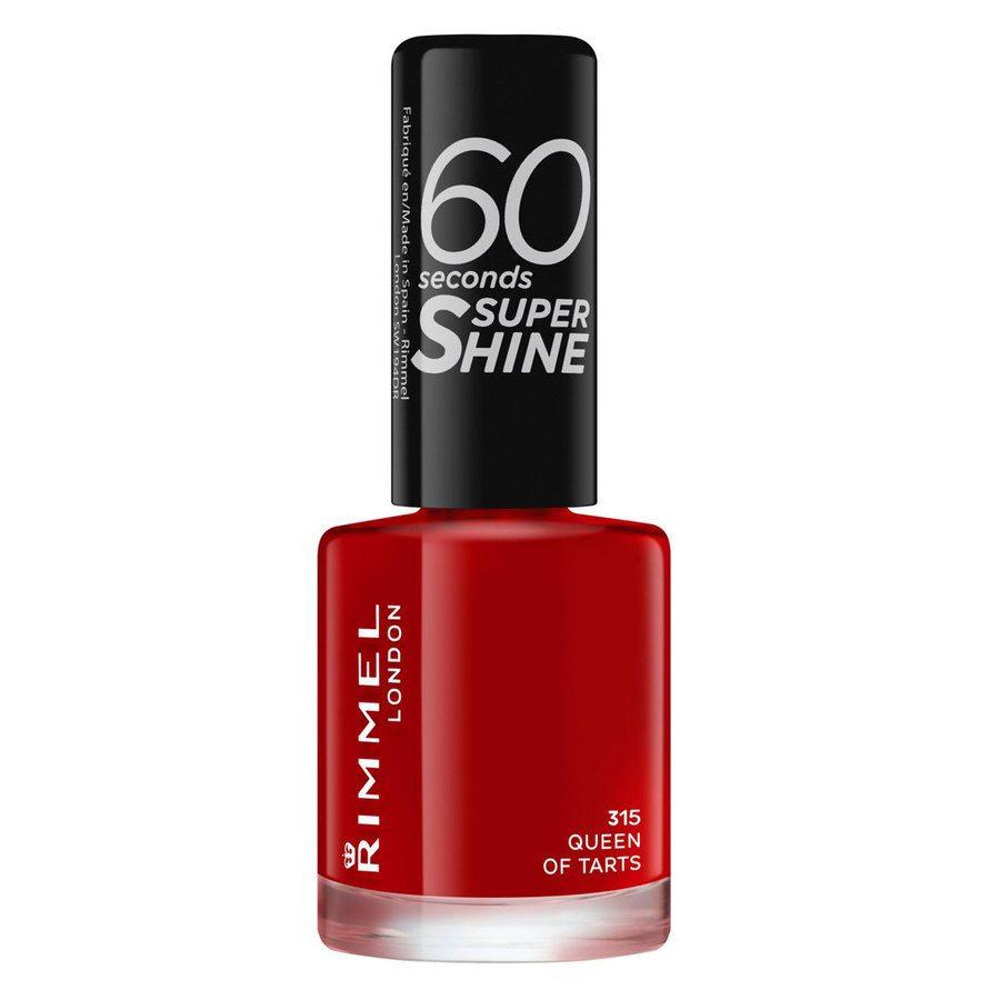 Rimmel London 60 Seconds Super Shine Nail Polish (8ml), #315 Queen Of Tarts