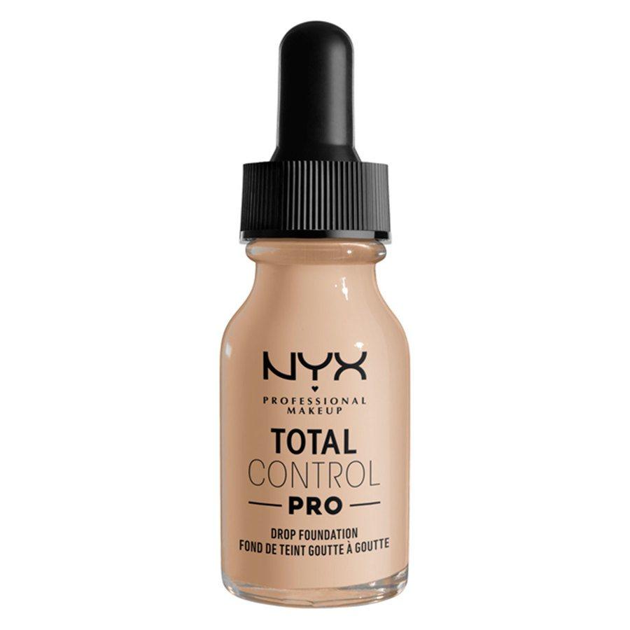 NYX Professional Makeup Total Control Pro Drop Foundation 13ml, Alabaster