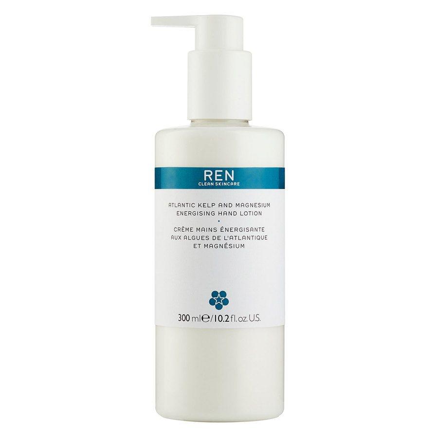 REN Clean Skincare Atlantic Kelp And Magnesium Energising Hand Lotion (300 ml)