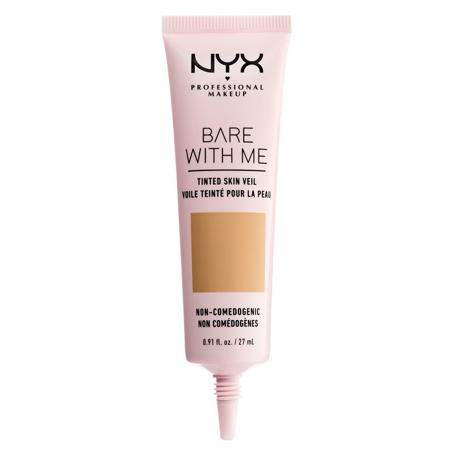 NYX Professional Makeup Bare With Me Tinted Skin Veil (27 ml), Beige Camel