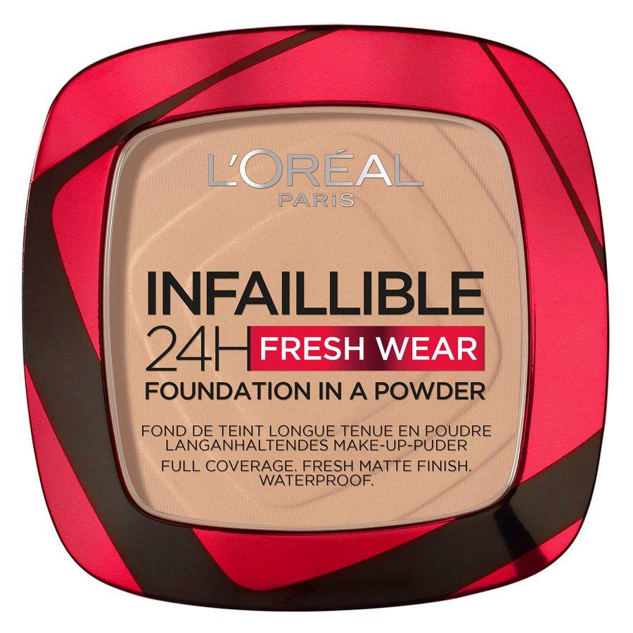 L'Oréal Paris Infallible 24H Fresh Wear Foundation In A Powder Vanilla 9 g