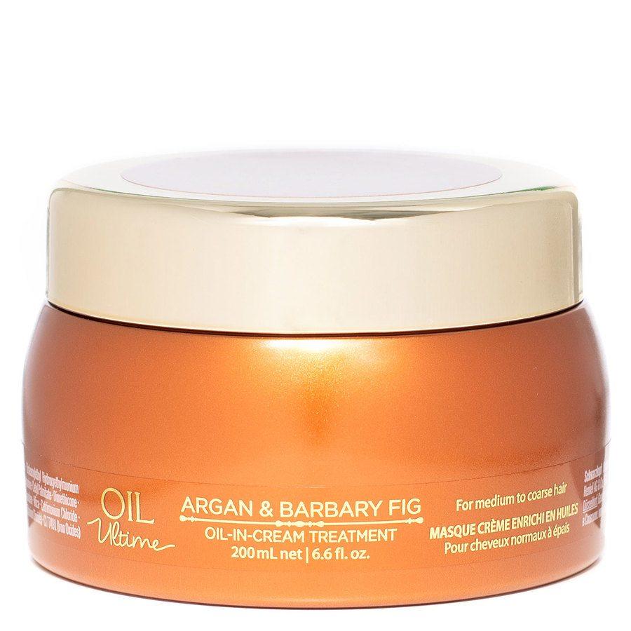Schwarzkopf Oil Ultime Argan & Barbary Fig Oil-In Cream Treatment (200ml)