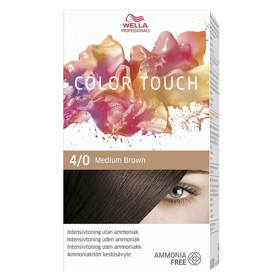 Wella Professionals Color Touch, 4/0 Pure Naturals (100 ml)