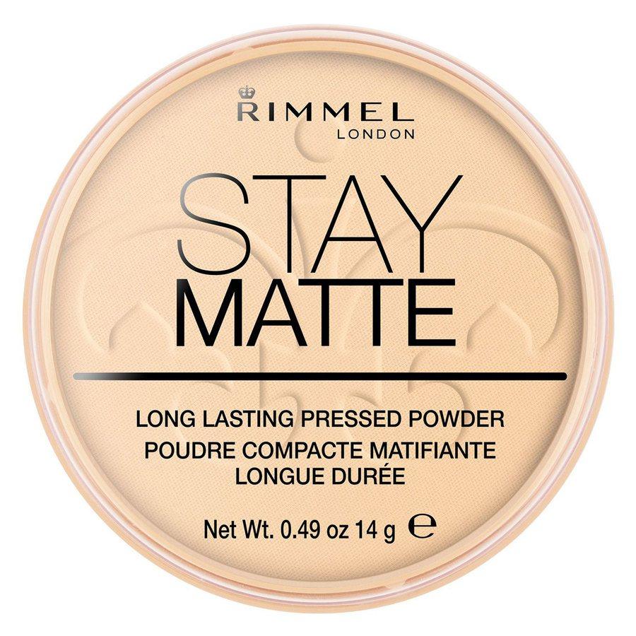 Rimmel Stay Matte Pressed Face Powder, Translucent001 (14g)