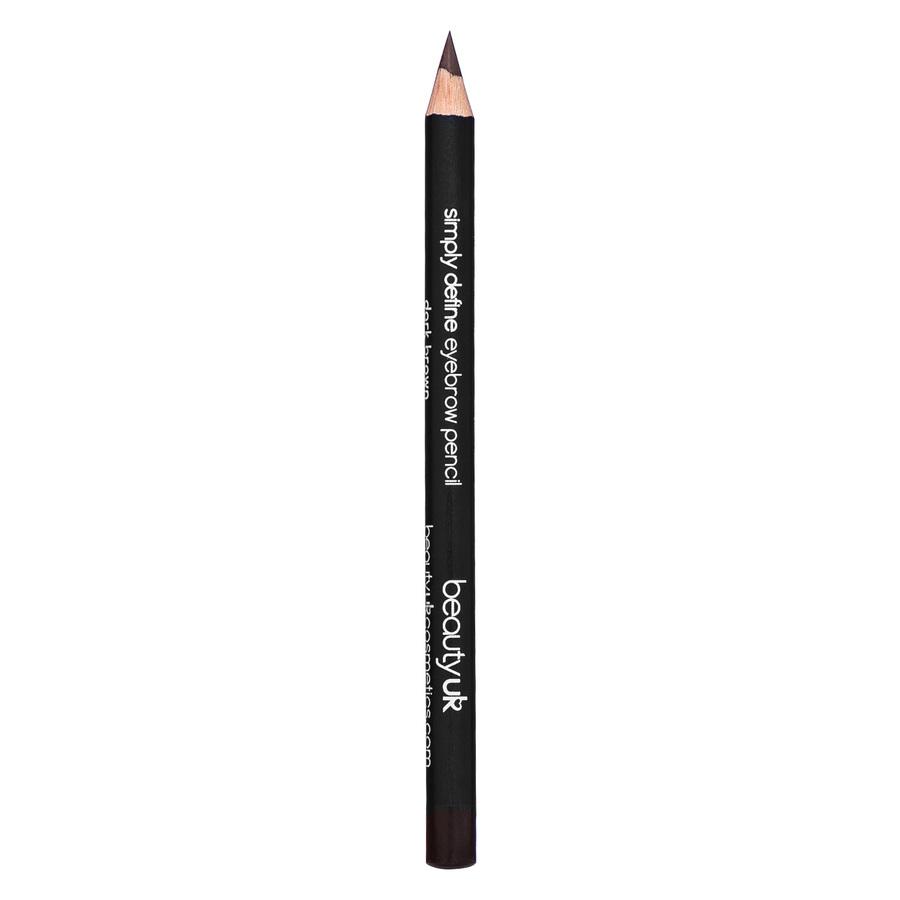 Beauty UK Brow Pencil, Dark Brown