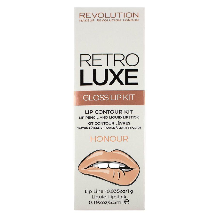 Makeup Revolution Retro Luxe Kits, Gloss Honour