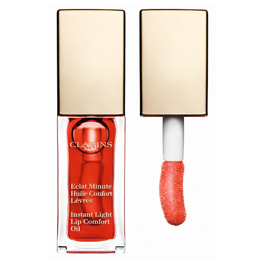 Clarins Instant Light Lip Comfort Oil 7ml, #03 Red Berry