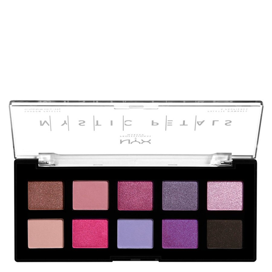 NYX Professional Makeup Mystic Petals Shadow Palette (10x0,8g), Midnight Orchid