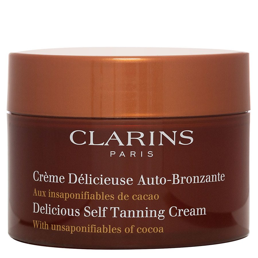 Clarins Delicious Self-Tanning Cream Face and Body (150ml)