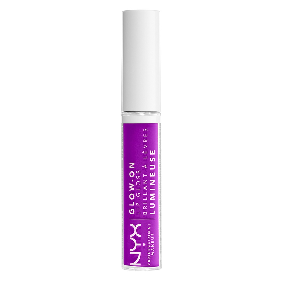 NYX Professional Makeup Glow-On Lip Gloss (7,5 ml), Lilac Vibes