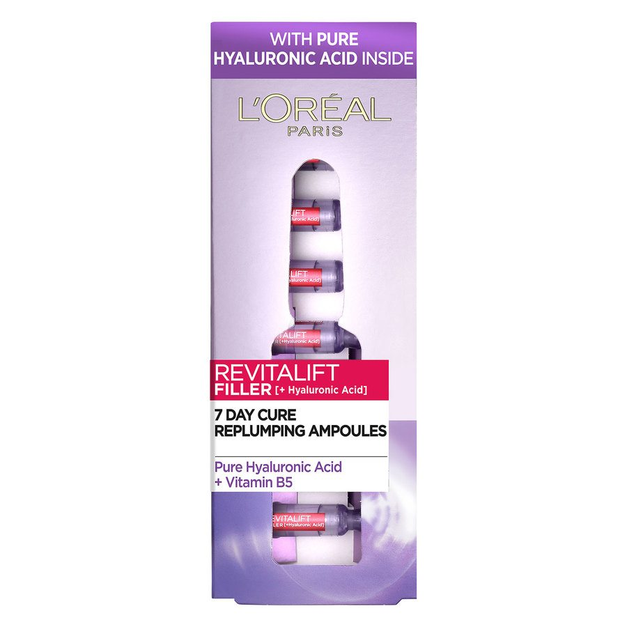 L'Oreal Paris Revitalift Filler Vials Hyaluronic Acid (7x1.3 ml)
