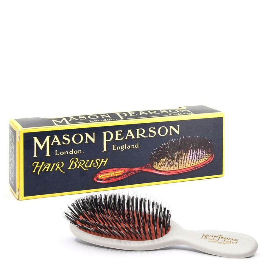 Mason Pearson Brush Pocket Bristle/Nylon BN4, biała