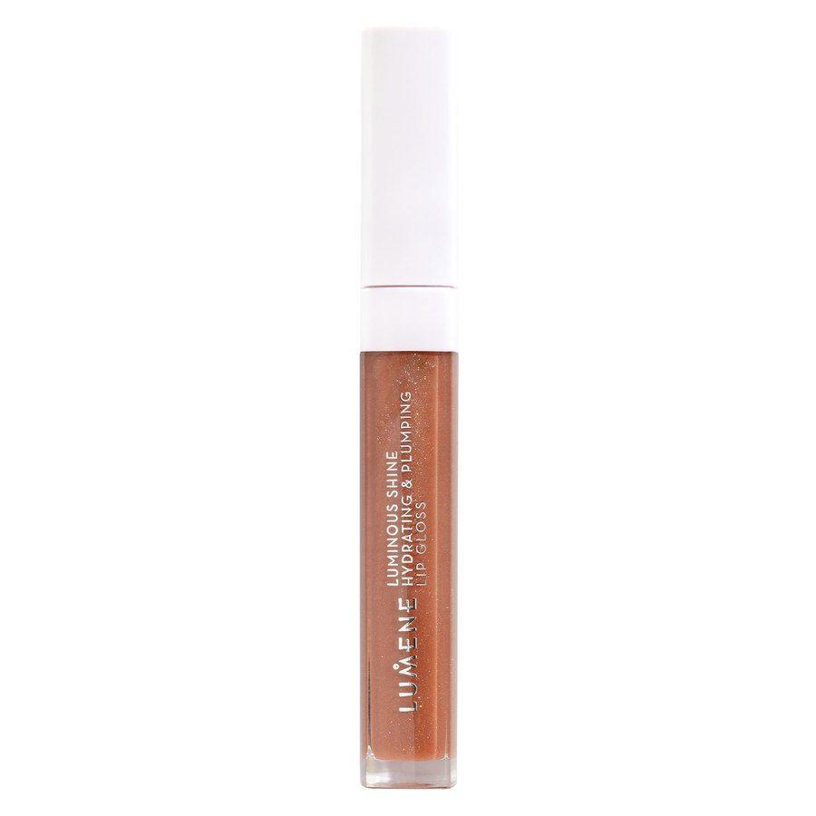 Lumene Luminous Shine Hydrating & Plumping Lip Gloss, 2 Warm Nude 5ml