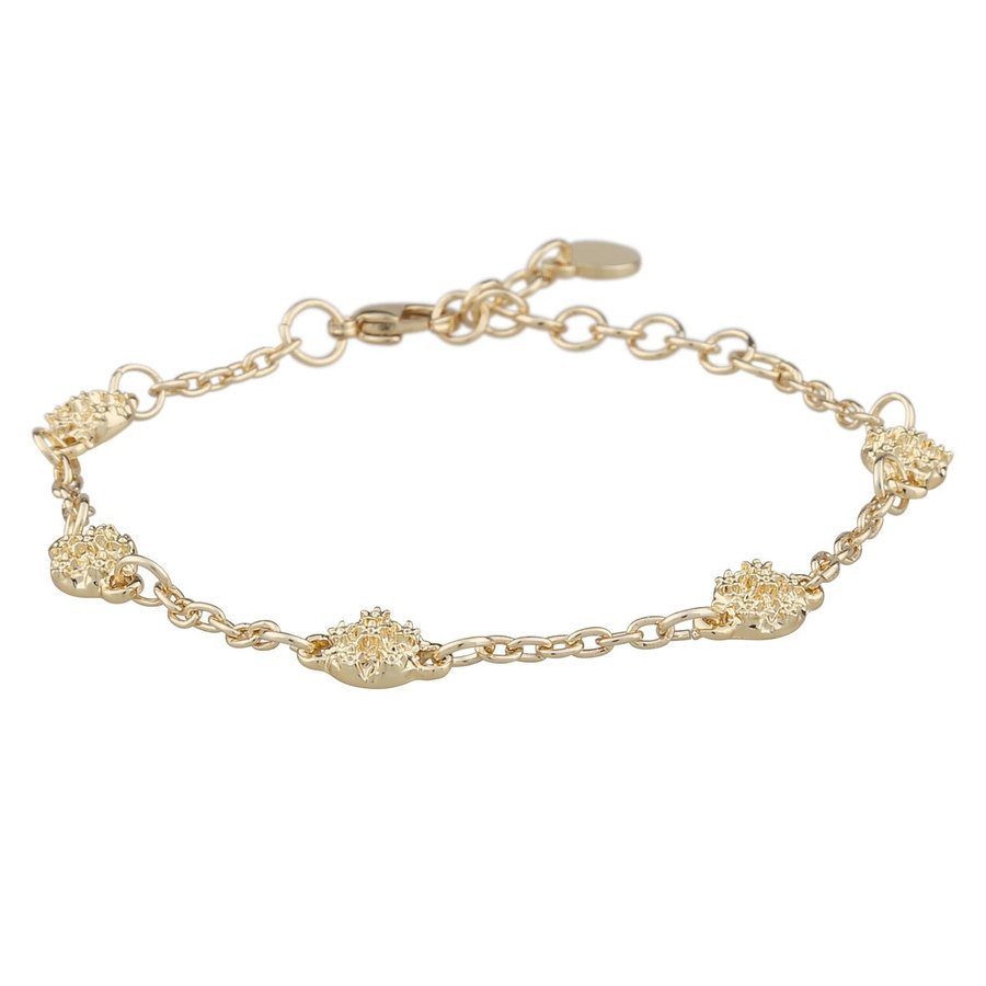 Snö Of Sweden Light Chain Bracelet Plain, 16–17 cm