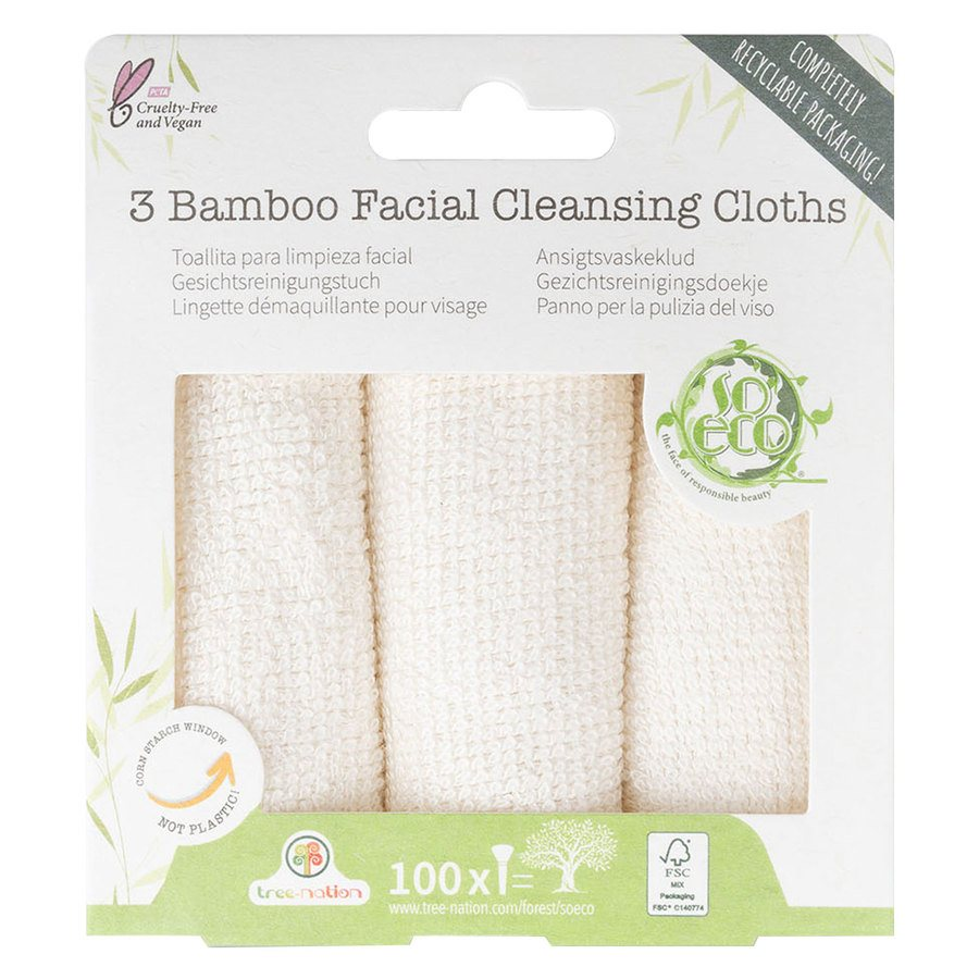 So Eco 3 Facial Cleansing Cloths