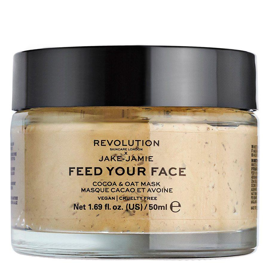 Revolution Skincare x Jake – Jamie Cocoa & Oat Moisturizing Face Mask 50ml