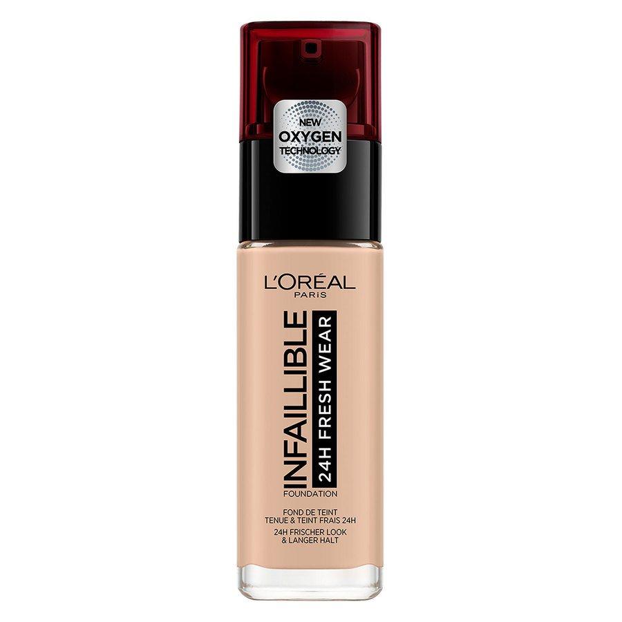L'Oréal Paris Infaillible 24H Fresh Wear Foundation (30 ml), #110 Rose Vanilla