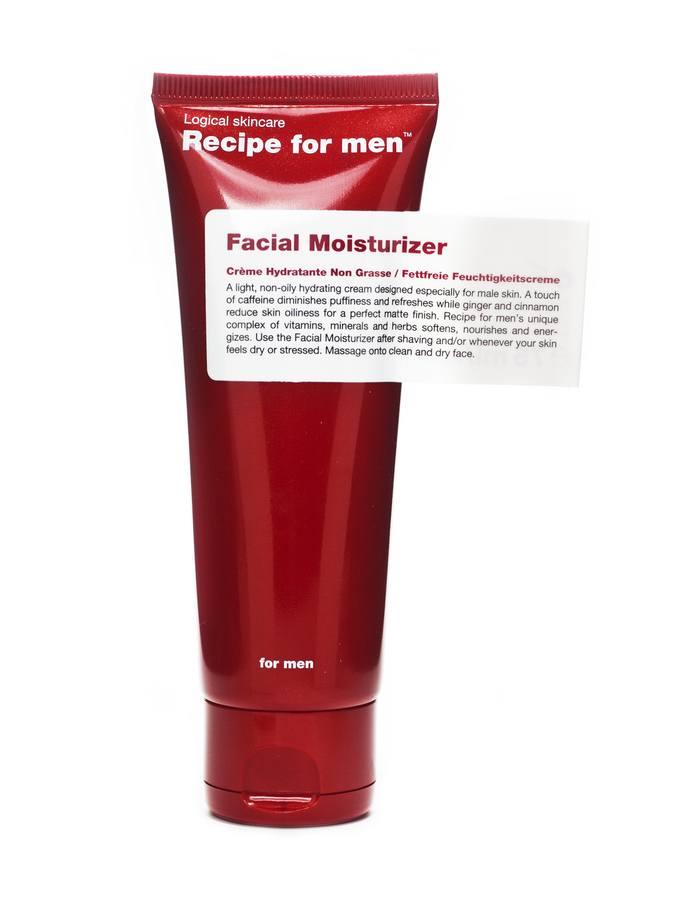 Recipe For Men Facial Moisturizer (75 ml) – krem nawilżający