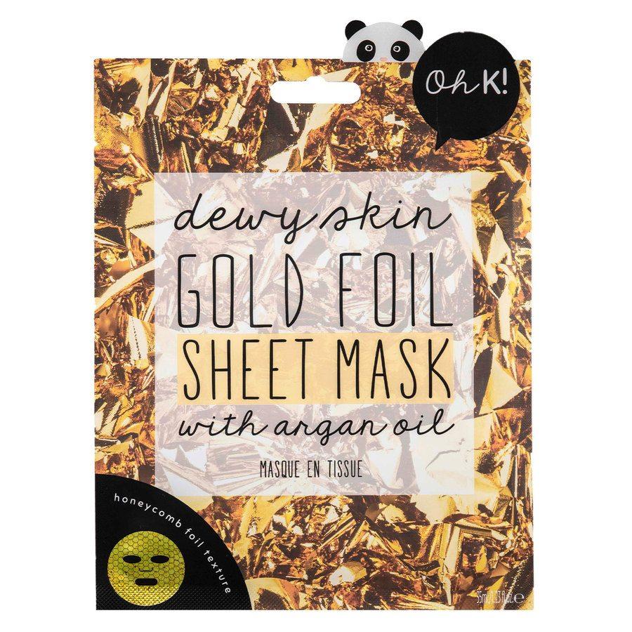 Oh K! Gold Foil Sheet Mask (35ml)