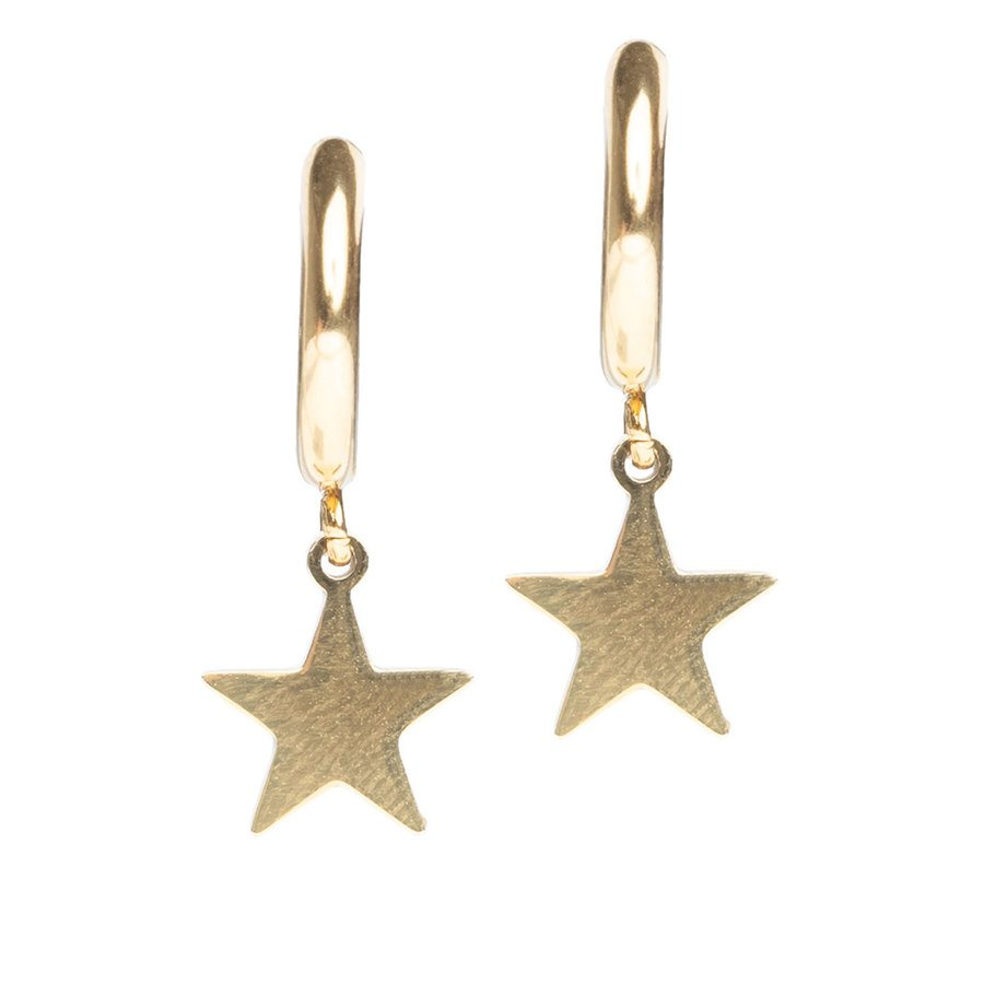 DARK Star Hoop, Gold