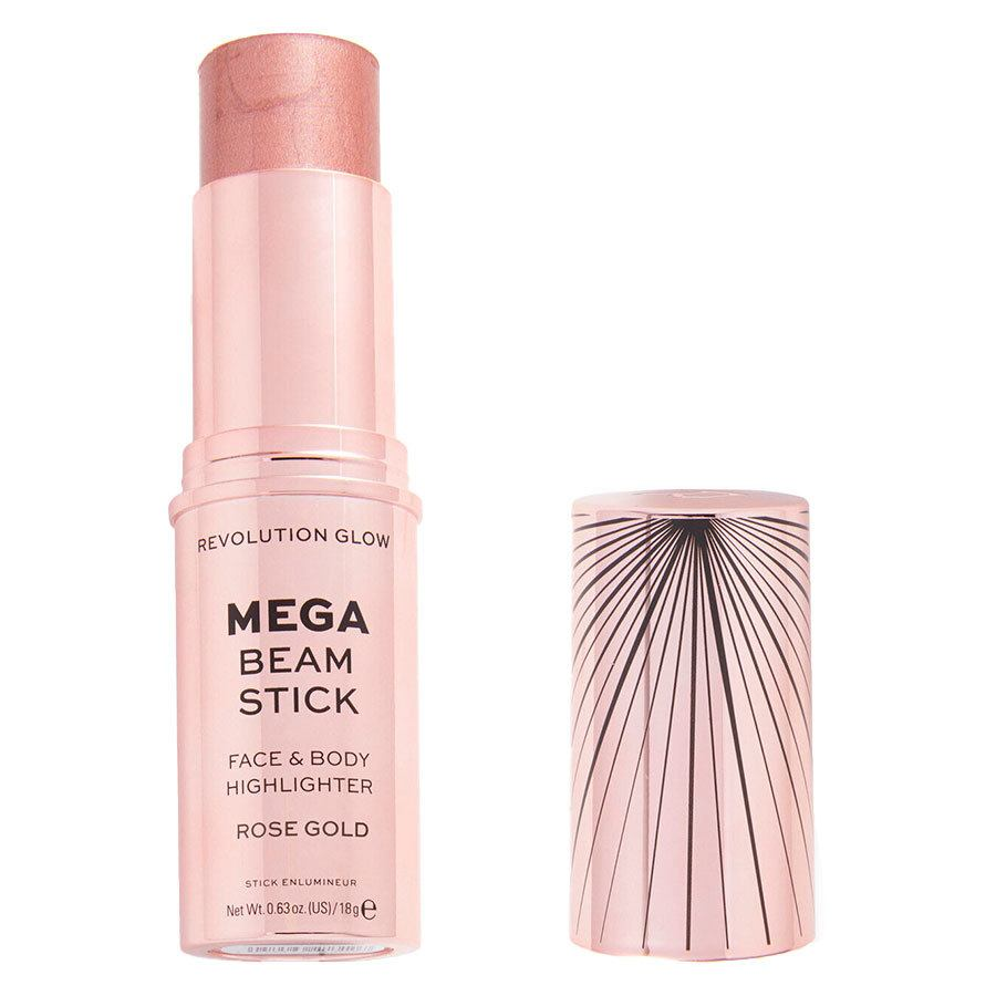 Makeup Revolution Glow Mega Beam Stick Rose Gold 18g