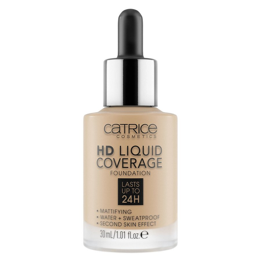 Catrice HD Liquid Coverage Foundation 30ml, 044 Deeply Rose