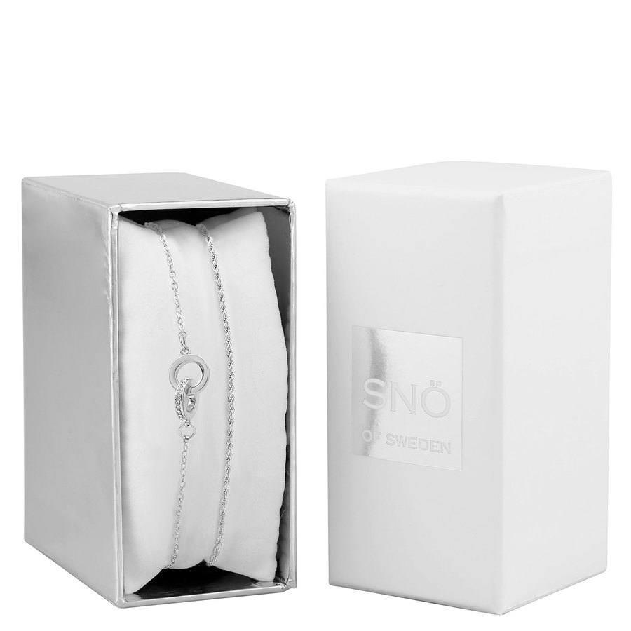 Snö of Sweden Crystal Royal Brace Set – Silver / Clear