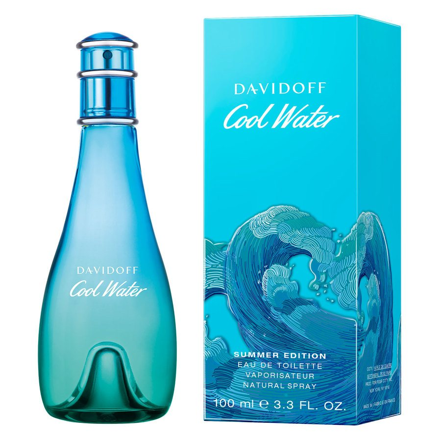 Davidoff Cool Water Woman Summer Edition Eau De Toilette 100ml