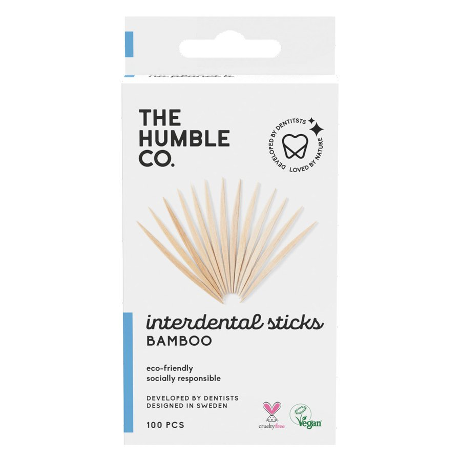 The Humble Co. Bamboo Interdental Sticks 100szt