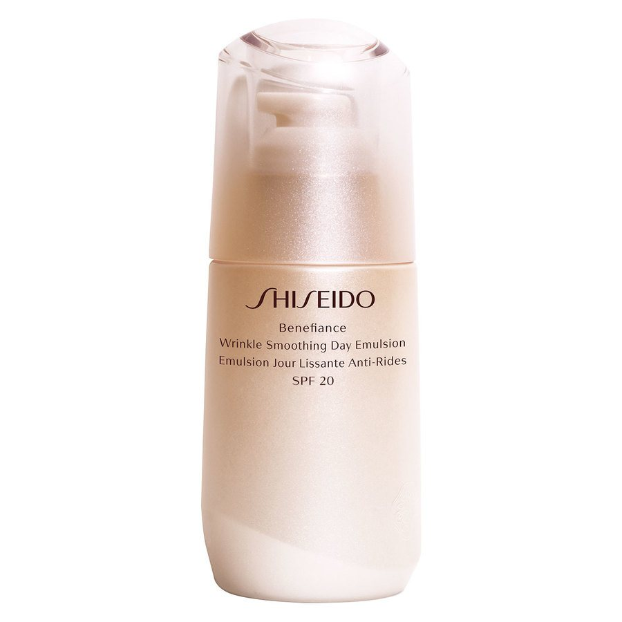 Shiseido Benefiance Wrinkle Smoothing Day Emulsion SPF 20 (75 ml)