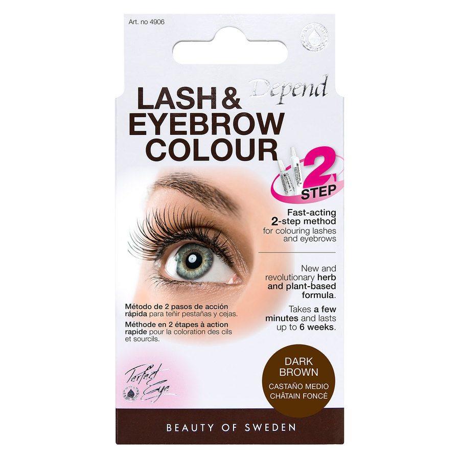 Depend Lash And Eyebrow Colour, Dark Brown