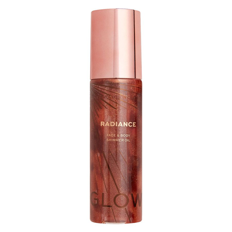 Makeup Revolution Radiance Shimmer Oil (100 ml), Bronze