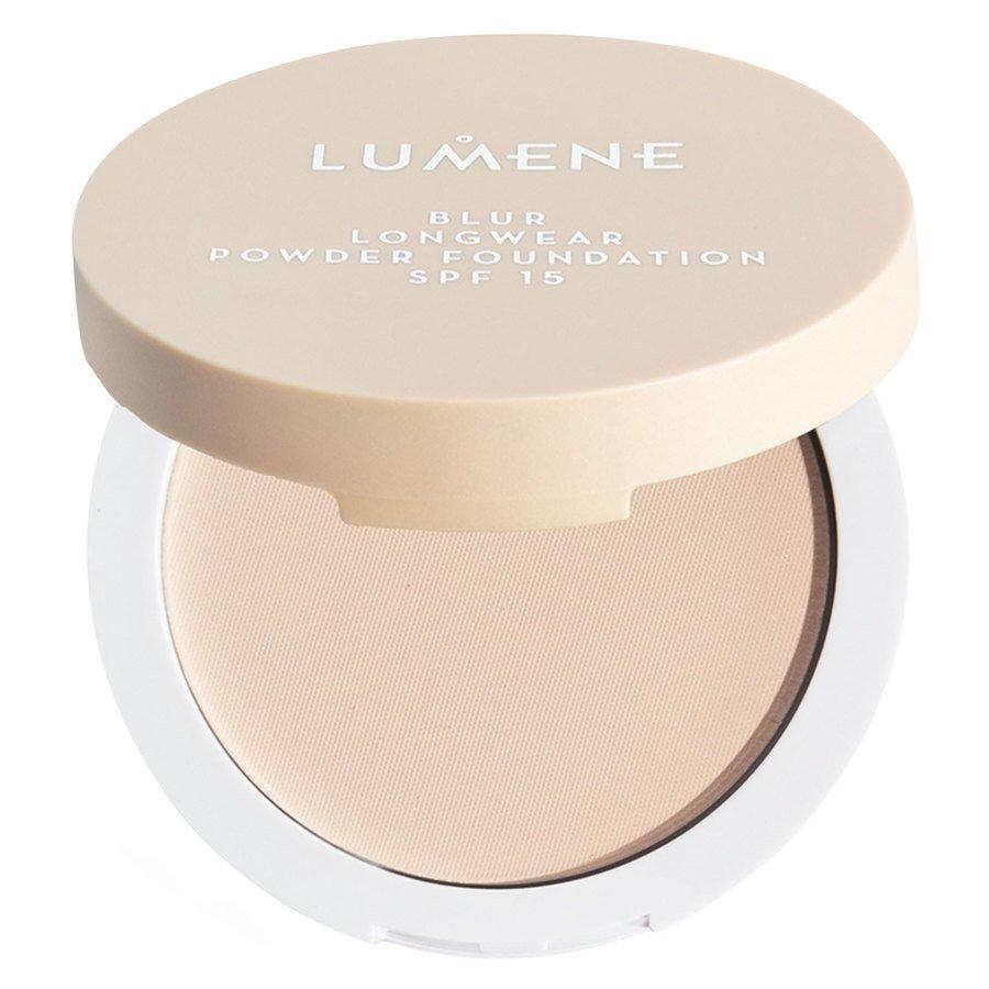 Lumene Blur Longwear Powder Foundation SPF15 Fresh Apricot 10 g