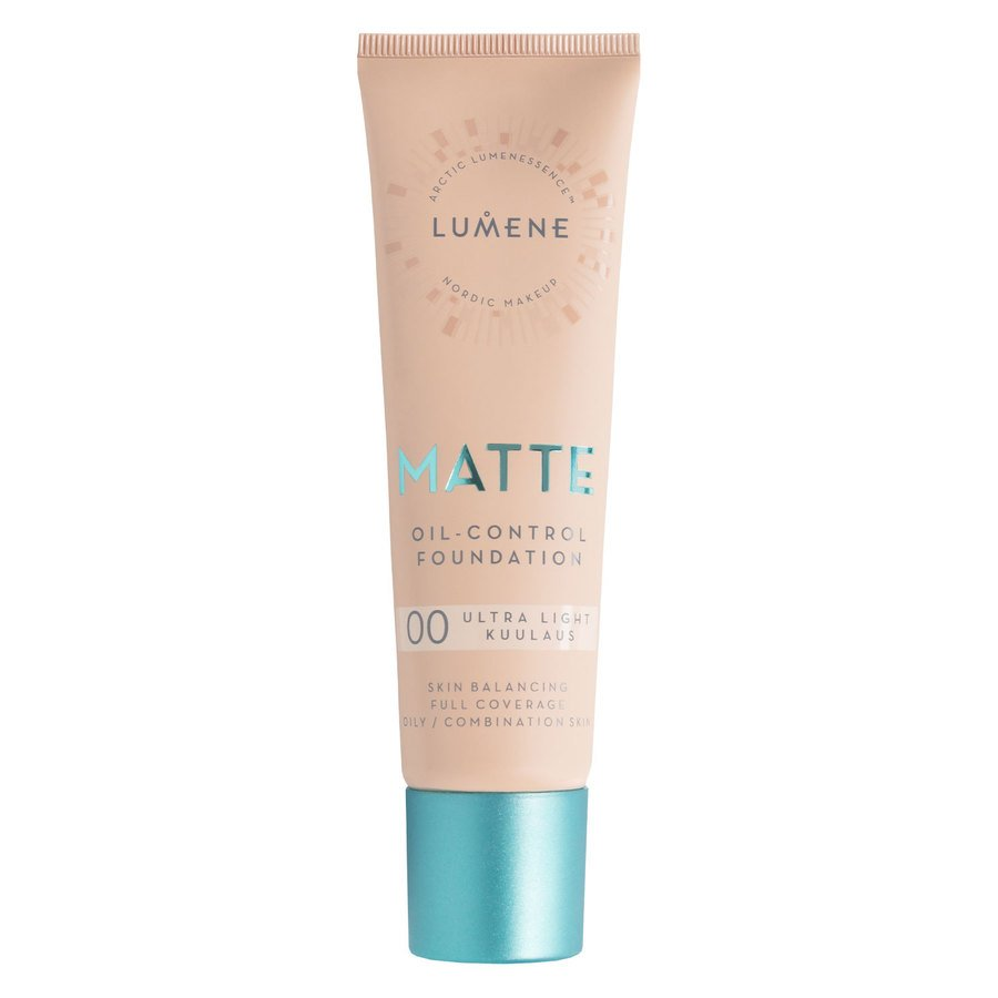 Lumene Matte Oil-Control Foundation #00 Ultra Light 30 ml