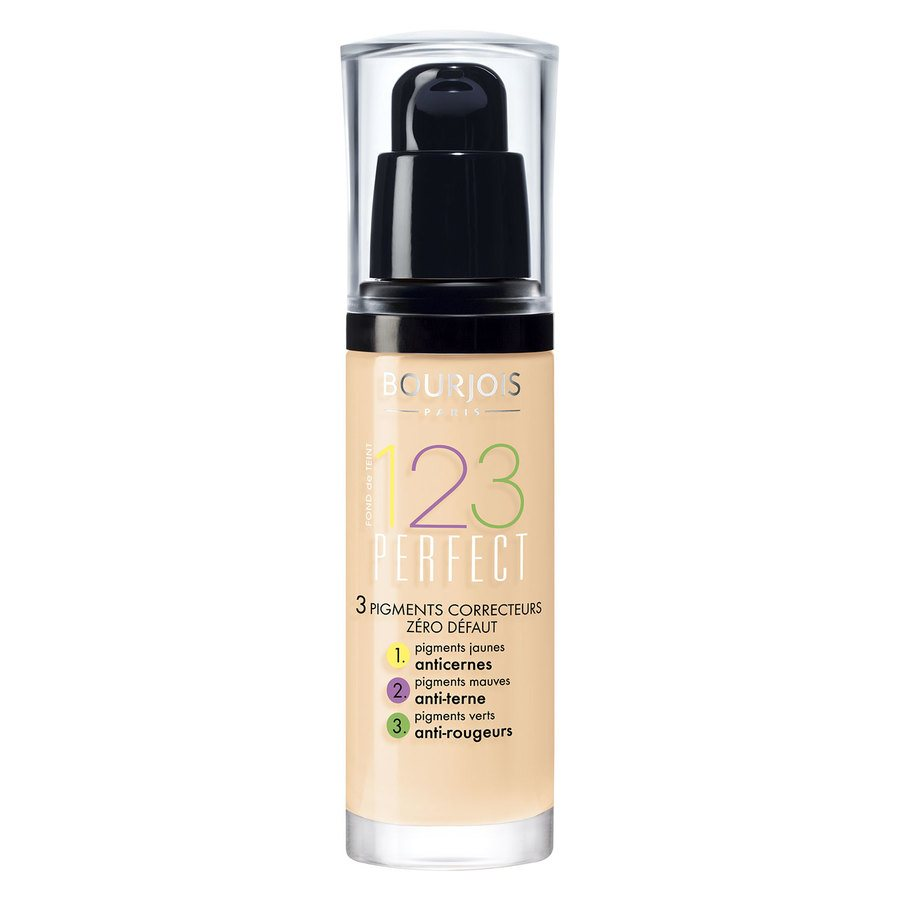 Bourjois 1,2,3 Perfect Foundation 51 Light Vanilla (30 ml)