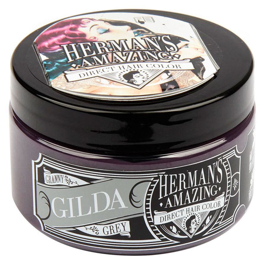 Herman's Amazing Direct Hair Color Gilda Granny Grey (115 ml)